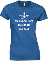 Weasley Is Our King Alternate Inspired, Harry Potter inspired Ladies' T-Shirt