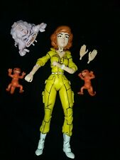 Neca Tmnt April Lot Of 4 Action Figures pizza monsters, krang