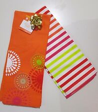 New with Tag for Sale - Flat Woven Coral Kitchen Towel ( 2 pack /1 set )