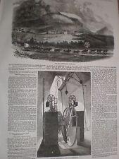 La astronomía Observatorio Real a Ciudad del Cabo Sudáfrica 1857 Impresiones & artículo