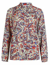 Marks and Spencer Paisley Hip Length Casual Women's Tops & Shirts