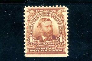 USAstamps Unused FVF US Serie of 1902 Grant Scott 303 OG MHR