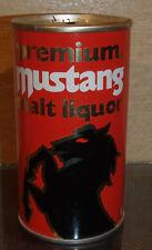 * 1970S Mustang Malt Liquor Pull Tab Beer Can No Bar Code Pittsburgh Pa