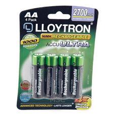 Lloytron Nimh accupower Aa Batería Recargable-Aa 2700mah Paquete De 4 (b1025)