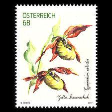"Austria 2017 - Flowers ""Cypripedium calceolus"" Flora - MNH"