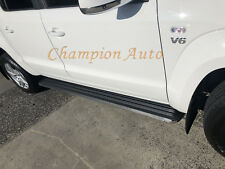 Volkswagen Amarok Dual Cab Side Steps Aluminium 2010- 2018+ (S5)