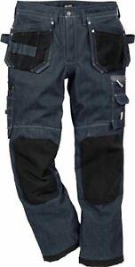 Kansas Bundhose Jeans Gr: 50 Denim schwarz 100% Baumwolle Arbeitsbekleidung