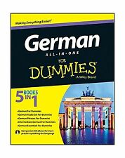 German All-in-One For Dummies with CD Free Shipping