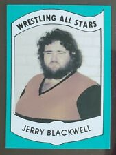 1982 Wrestling All-Stars Series B Jerry Blackwell Card 17 Ungraded