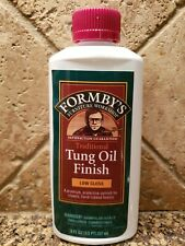 Formby's Low Gloss Traditional Tung Oil Finish 8 fl. oz New Discontinued.