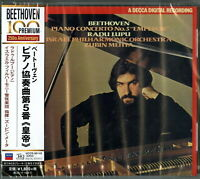 RADU LUPU-BEETHOVEN: PIANO CONCERTO NO.5-JAPAN UHQCD Ltd/Ed D73