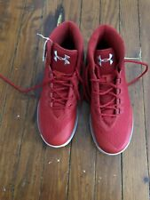 Under Armour UA Stephen Curry 3 Size 8 Red Basketball Shoes 1269279-600