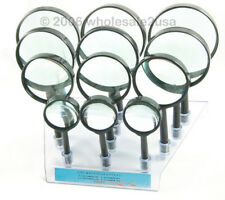 12pc Magnifier Display 10x 5x 3x Loupes Retailers Set