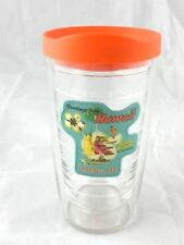 Tervis Tumbler 16 Oz Tommy Bahama Greetings From Oahu Hawaii w Orange Travel Lid