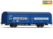 """BRAWA 48984 H0 Gedeckter Güterwagen Hbis """"Kaldewei"""" der DB ++ NEU & OVP ++"""