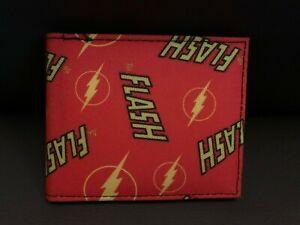 DC Comics The Flash Bifold Wallet NWOT