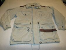 MENS VINTAGE STRUCTURE STUDIO ARCHITETTURA SAFARI STYLE JACKET SIZE MEDIUM