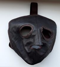 WW2  MASK PILOT OF THE RED ARMY LEATHER