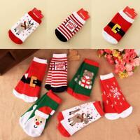 1 Pairs/Set Pretty Christmas Baby Cute Socks Absorb Sweat Permeability Socks TOP