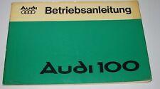 Betriebsanleitung Polizei Audi 100 Typ 43 C2 1,6 + 2,0 Handbuch August 1976!