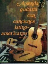 Aprenda Guitarra Con Canciones Latino Americanas (Spanish Edition)