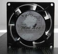 Sanyo Denki 109-043UL Mini Ace Fan, 115V, 50/60HZ,10/9V, .11/.1A