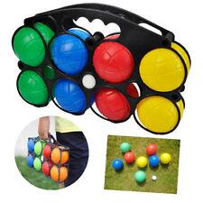 Plastic French Boules Balls PETANQUE Jack Carry Case Garden Beach Picnic Games