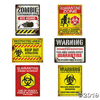 Zombie Halloween Party Posters - Asso...
