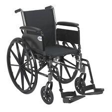 Cruiser III Light Weight Wheelchair w/Various Flip Back Arm & Front Rigging NEW
