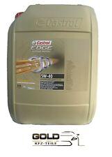 5W 40 Castrol Edge Titanium FST Turbo Diesel Motoröl 20 Liter 5w-40