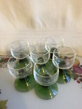 GLASSES SET OF SIX