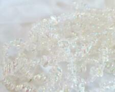 Estate Iridescent Clear Plastic Bead Garland - 9 Ft - Christmas - Crafts