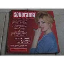 Sonorama N°23 Brigitte Bardot, 1960 Rare N°23 du magazine sonorama de 1960