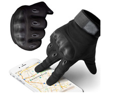 Powersports Motorcycle Gloves, Lightweight Carbon Fiber Racing Gloves with Mobil