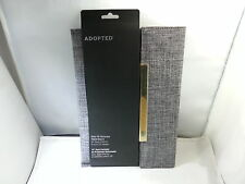 """ADOPTED Soho Sleeve for Most Tablets Up to 10"""",  Ash Gray/Gold"""