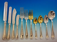 Old French by Gorham Sterling Silver Flatware Set for 12 Service 134 pcs Dinner