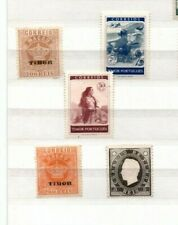 A very nice mint/unused Portuguese Timor group