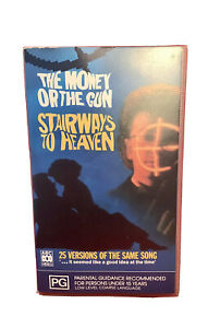 The Money Or The Gun Stairways To Heaven VHS  Retro Vintage Video Cassette