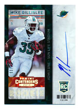 2013 CONTENDERS MIKE GILLISLEE RC CRACKED ICE AUTO AUTOGRAPH PATRIOTS #3/21 HOT!