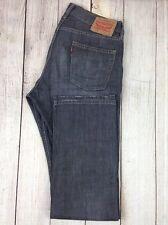 Levi Strauss & Co 514 Men's Jeans 34 x 34 Gray Cotton Straight Denim Pants