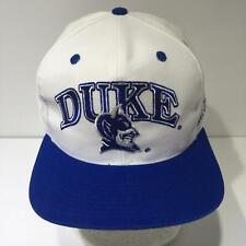 Vintage NCAA Duke Blue Devils Daystone Snapback Cap Hat OSFA NWOT
