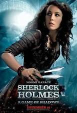 SHERLOCK HOLMES A GAME OF SHADOWS Movie Promo POSTER F Robert Downey Jr.