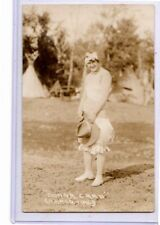 Real Photo Postcard RPPC - Rodeo Cowgirl Donna Card Glover