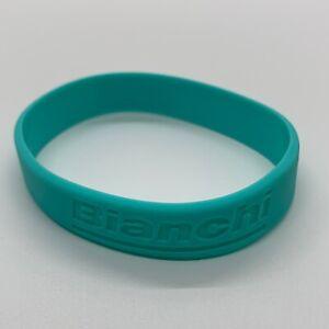 New Bianchi Celeste Casual Rubber Wristband / Armband / Road Bike