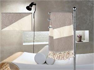 Turkish Cotton Diamond Peshtemal,Authentic Beach Towel,Pareo,Shawl,