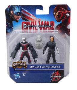 Marvel Captain America Civil War Ant-Man & Winter Soldier Figur Hasbro Avengers