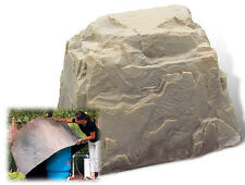 DekoRRa Fake Rock 104SS SandStone - Cover Well Tanks-Electric Boxes- Sizing Tip