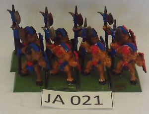 OOP Classic Warhammer Beastmen x 8 Plastic Monopose (GW 1994) Ref JA021