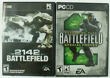 Battlefield 2142 & 2 Special Forces PC Game Lot