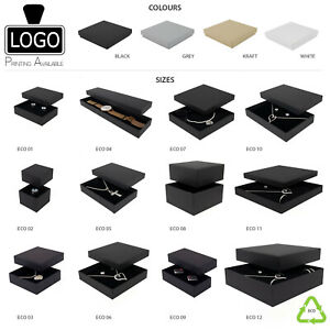 Eco-friendly Jewellery Bracelet-Pendant-Earrings Boxes (13 Sizes) Large Letter
